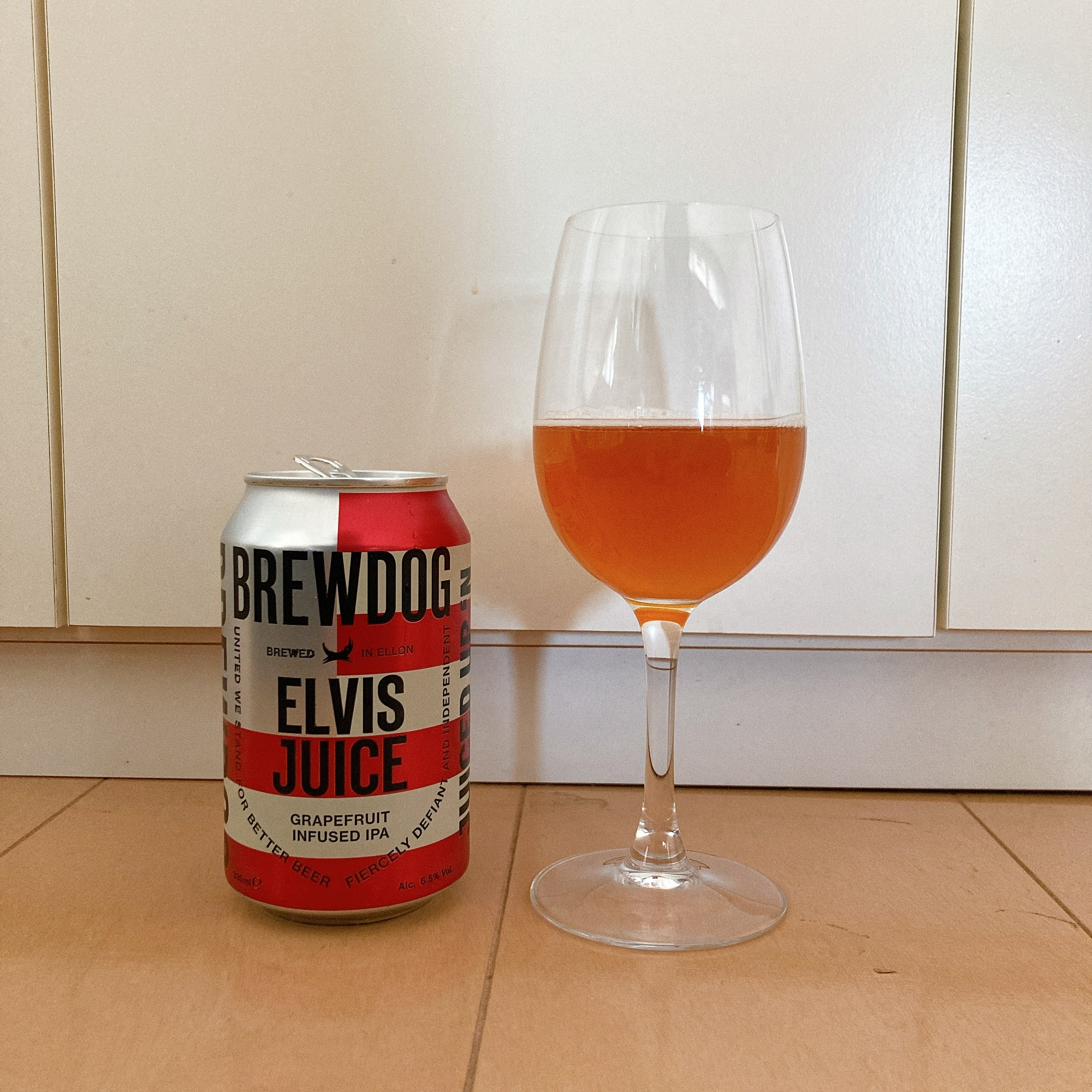 ブリュードッグ エルビスジュース BREWDOG ELVIS JUICE グレープフルーツインフューズドIPA